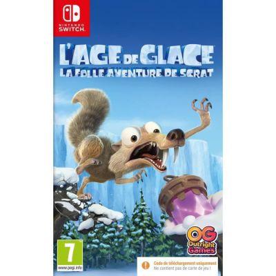 image Jeu L'Âge de Glace - La Folle Aventure de Scrat sur Nintendo Switch (Code dans la boîte)