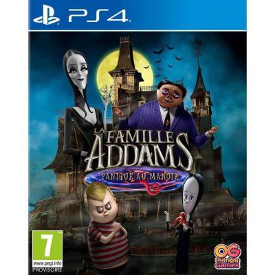 image Jeu La Famille Addams : Panique au Manoir sur PS4