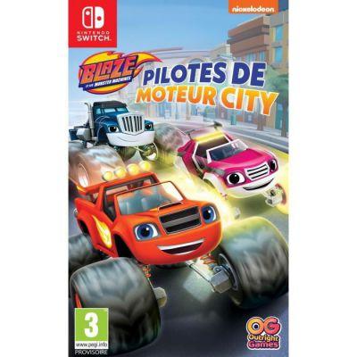 image Jeu Blaze et les Monster Machines : Pilotes de Moteur City sur Nintendo Switch