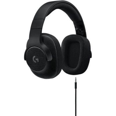 image Logitech G433 Casque Gamer Filaire, Son 7.1 Surround, DTS Headphone:X, Transducteurs Pro-G, Poids Léger, USB/Audio Jack 3,5mm, PC/Mac/Nintendo Switch/PS4/Xbox One - Noir
