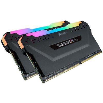 image CORSAIR Mémoire Vengeance RGB PRO 3600Mhz 32GB 2x16GB CL14 DDR4 (CMW32GX4M2Z3600C14)