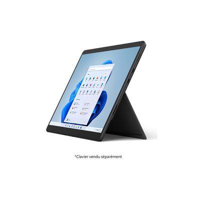 image PC Hybride  Microsoft Surface Pro 8 Graphite (intel Core i5, RAM 8Go, SSD 256Go - Windows 11)