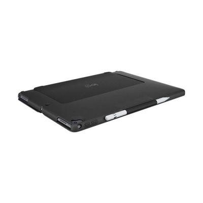 image Logitech Slim Combo Etui Clavier Détachable Rétroéclairé Bluetooth sans Fil, pour iPad 5e et 6e Génération, Clavier AZERTY Français - Noir