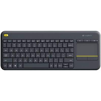 image Clavier sans Fil Logitech K400 Plus avec Pavé Tactile (Windows/Android/Portable/Tablette) - Noir