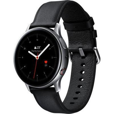 image Samsung - Montre Galaxy Watch Active 2 4G - Acier 40mm - Argent Glacier - Version Française