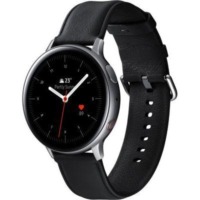 image Samsung - Montre Galaxy Watch Active 2 4G - Acier 44 mm - Argent Glacier - Version Française