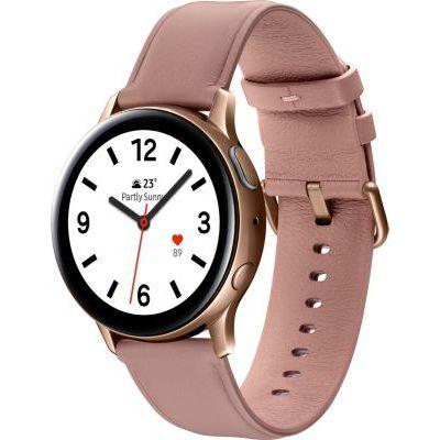image Samsung - Montre Galaxy Watch Active 2 Bluetooth - Acier 40 mm - Rose Lumière - Version Française