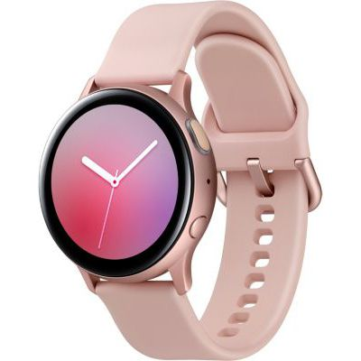 image Samsung - Montre Galaxy Watch Active 2 Bluetooth - Aluminium 40 mm - Rose velours - Version Française