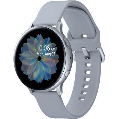 image Samsung - Montre Galaxy Watch Active 2 Bluetooth - Aluminium 44 mm - Bleu gris - Version Française
