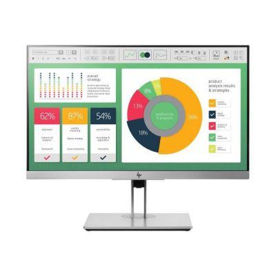 """image HP EliteDisplay E223 21.5"""" Full HD IPS Noir, Argent écran Plat de PC - Écrans Plats de PC (54,6 cm (21.5""""), 1920 x 1080 Pixels, LED, 5 ms, 250 CD/m², Noir, Argent)"""