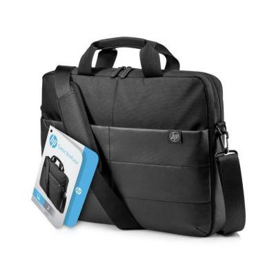"""image HP Sacoche Classique 15.6 pour Ordinateur Portable jusqu'à 15,6"""" (Résistante à l'Eau, 41 x 31 x 8,5 cm) - Noire"""