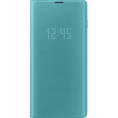 image Samsung S10+LED View Cover Green