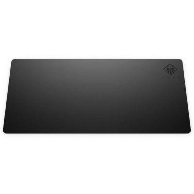 image HP OMEN 300 Tapis de Souris Gaming (90 cm x 40 cm, Ultra Fin, Tissu, Base Caoutchouc Antidérapant, Résistant à l'Usure) - Noir