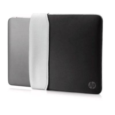 """image HP Housse de Protection Réversible pour Ordinateur Portable 14"""" (Néoprène) - Noir/Argent"""