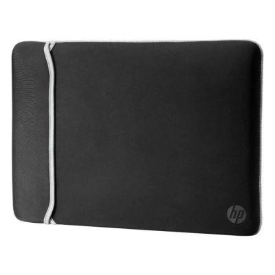 """image HP Housse de Protection Réversible pour Ordinateur Portable 15,6"""" (Néoprène) - Noir/Argent"""