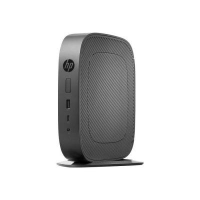 HP t530 - Client léger - Tour - 1 x GX-215JJ 1.5 GHz - RAM 4 Go - Flash 8 Go - (MLC) - Radeon R2E - GigE ThinPro - Moniteur : Aucun