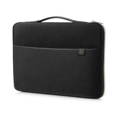 """image HP Housse de Protection / Sacoche pour Ordinateur Portable 14"""" (Résistante à l'Eau) - Noir/Or"""