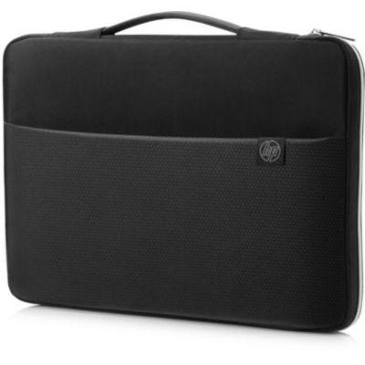 """image HP Housse de Protection / Sacoche pour Ordinateur Portable 14"""" (Résistante à l'Eau) - Noir/Argent"""