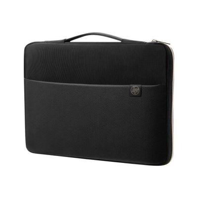 """image HP Housse de Protection / Sacoche pour Ordinateur Portable 17,3"""" (Résistante à l'Eau) - Noir/Or"""