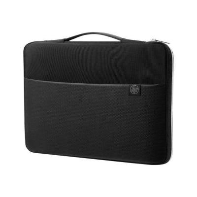 """image HP Housse de Protection / Sacoche pour Ordinateur Portable 17,3"""" (Résistante à l'Eau) - Noir/Argent"""