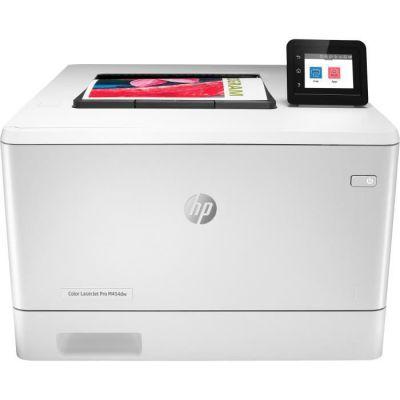 HP Color Laserjet Pro M454dw - Imprimante - Couleur - Recto-Verso - Laser - A4/Legal - 38 400 x 600 PPP - jusqu\'à 27 ppm (Mono) / jusqu\'à 27 ppm (Couleur) - capacité : 300 Feuilles - USB 2.0, Gigabit