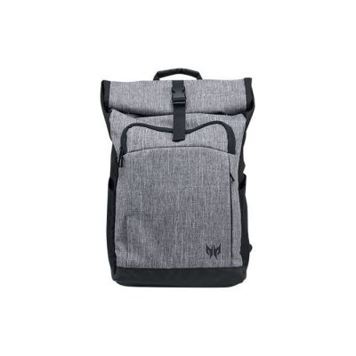 "image Acer Predator Rolltop Jr. Polyester Gris Sac ? Dos - Sacs ? Dos (Polyester, Gris, Uniforme, Unisexe, 39,6 cm (15.6""), Reach RoHS)"