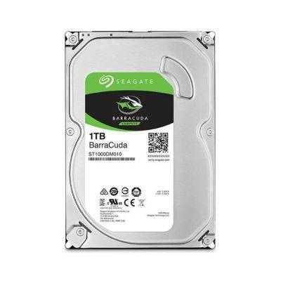 image Seagate BarraCuda 1 To, Disque dur interne HDD – 3,5 pouces SATA 6 Gbit/s 7 200 tr/min, 64 Mo de mémoire cache, pour PC de bureau (ST1000DM010)