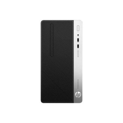 HP ProDesk 400 G6 MT i39100 4GB/256 PC Intel i3-9100, 256GB SSD, DVD+/-RW, 4GB DDR4, W10P6 64bit, 1-1-1 Wty Clavier FR