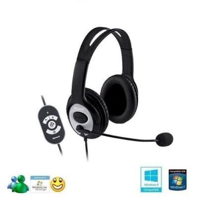 image Microsoft LifeChat LX-3000 - Casque PC filaire Noir