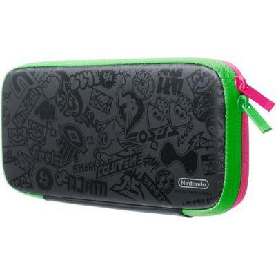 image Pochette de transport et protection d'écran Nintendo Switch - Édition Splatoon 2