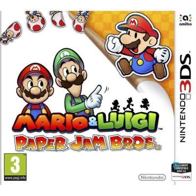 image Mario & Luigi Paper Jam Bros Jeu 3DS