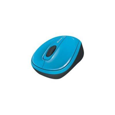 image Microsoft Wireless Mobile Mouse 3500 - Souris sans fil Bleue