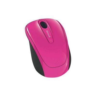 image Microsoft Wireless Mobile Mouse 3500 - Souris sans fil Rose