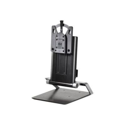 """image HP Integrated Work Center pour Mini Ordinateur de Bureau et Client léger - Supports d'écrans Plats pour Bureau (5 kg, 43,2 cm (17""""), 61 cm (24""""), 100 x 100 mm, Réglage de la Hauteur, Noir)"""