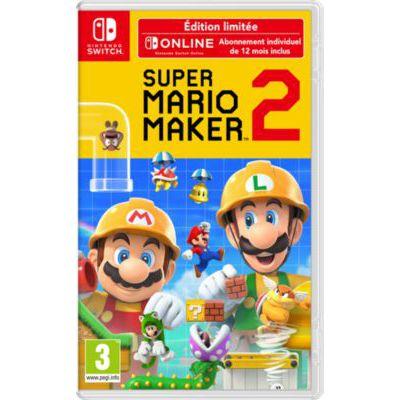 image Jeu Super Mario Maker 2 - édition limitée sur Nintendo Switch