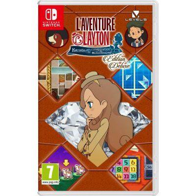 image Jeu L'Aventure Layton : Katrielle et la conspiration des millionnaires - Édition Deluxe sur Nintendo Switch