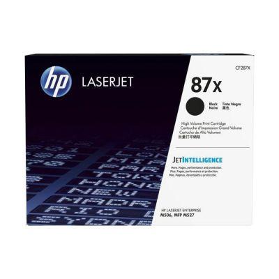 image produit HP 87X CF287X toner haut rendement Authentique, imprimantes HP LaserJet Enterprise M506/M527 et LaserJet Pro M501, Noir