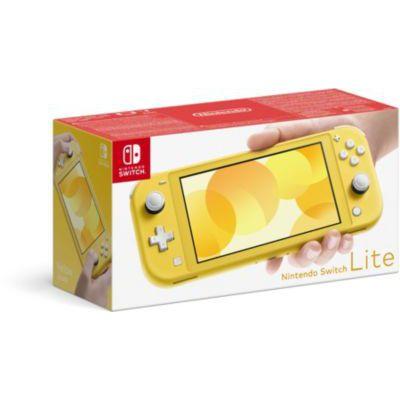 image Console Nintendo Switch Lite Jaune