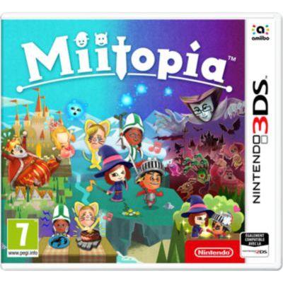image Jeu Miitopia sur Nintendo 3DS