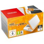 Console Nintendo New 2DS XL - Blanc et Orange
