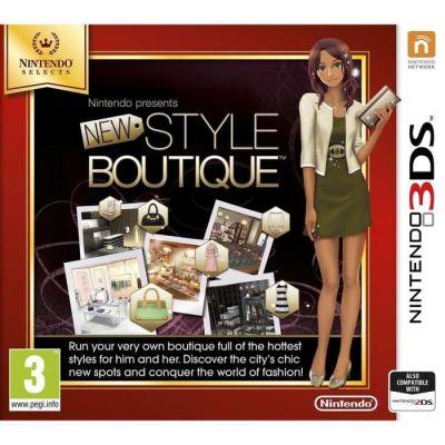 image Jeu La Nouvelle Maison du Style - Nintendo Selects  sur Nintendo 3DS