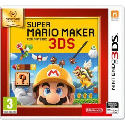 image Super Mario Maker pour Nintendo 3DS - SELECTS