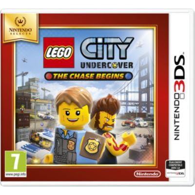 image Jeu Lego City : Undercover - The Chase Begins - Nintendo Selects sur Nintendo 3DS