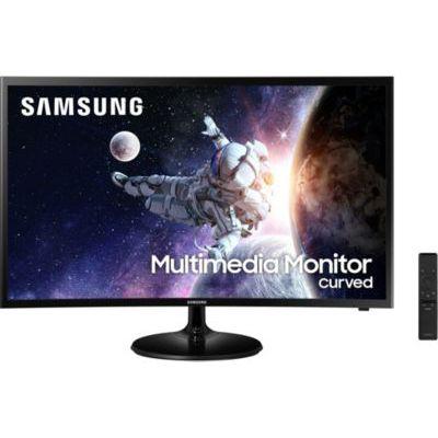 """image Samsung C32F39M Ecran PC Multimedia incurvé, Dalle VA 32"""", Résolution FHD (1920 x 1080), 60 Hz, 4ms, AMD Freesync, Noir"""
