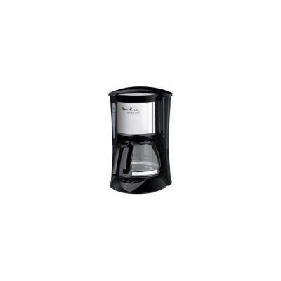 image MOULINEX Cafetières filtre SUBITO inox 6 Tasses Machine à café cafetière électriqueCafetière Capacité 0,6L Antigoutte Porte-filtre pivotant Auto off 30 minutes FG150813