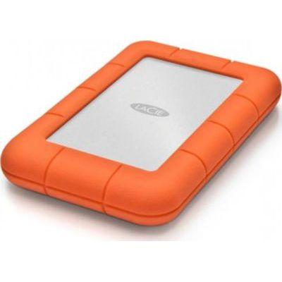 image Disque Dur Externe LaCie 2 To Rugged Mini - Résistant aux Chocs (USB 3.0, 2.5 pouces)