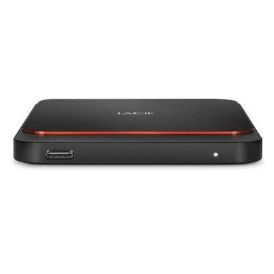 "image LaCie Portable SSD, 500 Go, externe SSD, 2.5"", USB-C, USB 3.0, Mac, PC (STHK500800)"