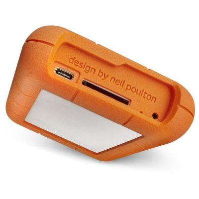 image LaCie Rugged RAID Pro 4 To, Disque dur externe portable HDD, Compatible USB 3.0, Avec emplacements de cartes SD, résistant aux chutes, aux chocs, à la poussière et à l'eau, Mac et PC (STGW4000800)