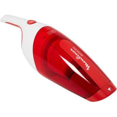 image Moulinex MX232301 Aspirateur à Main Extenso Dry Sans Fil Rechargeable Embout Télescopique Cleanette Rouge et Blanc