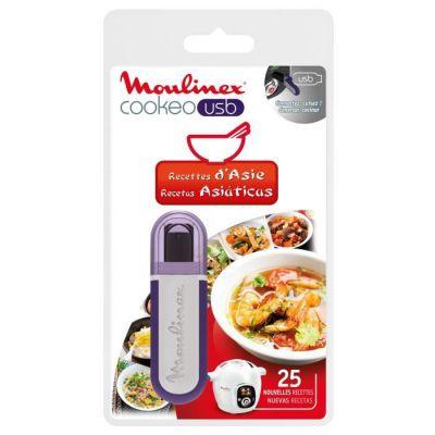 image Moulinex Clé USB de 25 Recettes d'Asie XA600311 Accessoire Cookeo Officiel Compatible avec Multicuiseurs Cookeo YY2943FB CE702100